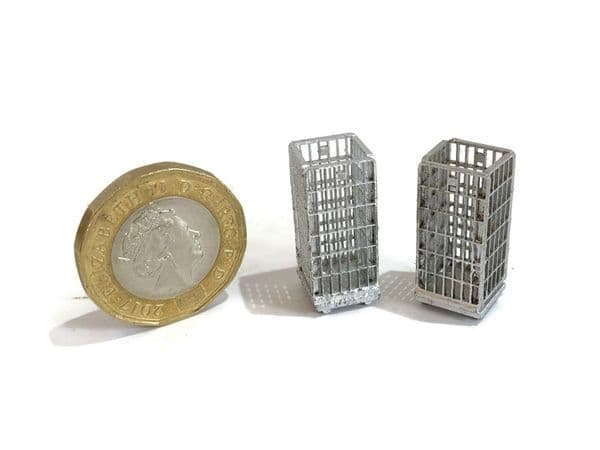 LX263-OO Pallet Cages (Pack of 4) - OO/4mm/1:76